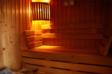 Sauna privatif